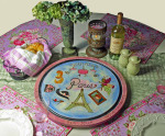 Paris lazy susan