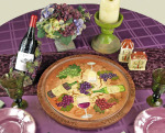Wine Celebration lazy susan