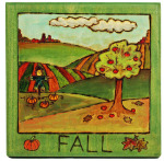 Fall plaque