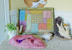 Country Quilt tray