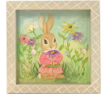 Wildflower Bunny tray